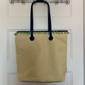 Clinique x Jonathan Adler tote